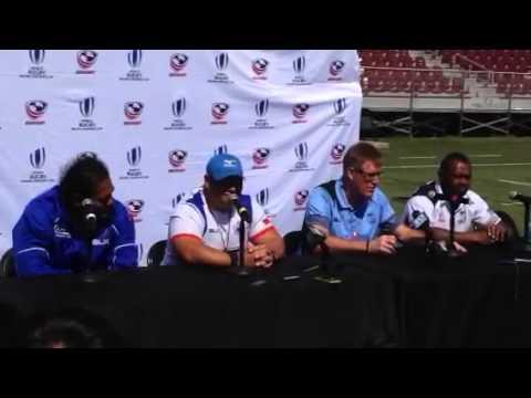 Samoa-Fiji Press Conference