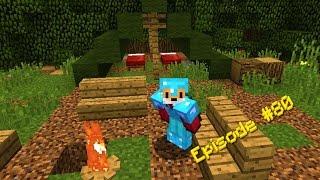 Minecraft - HELP! I'M STUCK IN A TREE!!! - Foxy's Survival World [80]