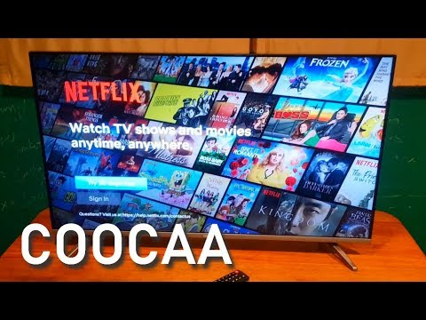COOCAA 40S3N 40-inch Smart TV with Netflix Unboxing, Installation, Quick  Review