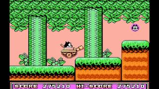 Felix the Cat Walkthrough NES HD 1080p