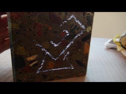 Светопроводящий бетон, своими руками! Подарок Михаилу HeARTwood!