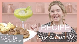 Homemade Churros & Margarita Recipes! | Sasha In Good Taste | Sasha Pieterse Sheaffer