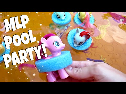 MY LITTLE PONY POOL PARTY! Ep. 5