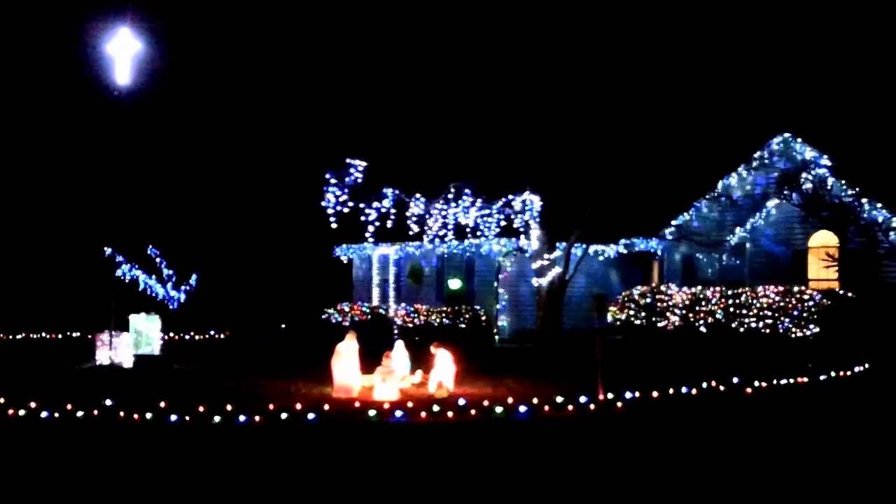 christmas lights set to music using light o rama control system