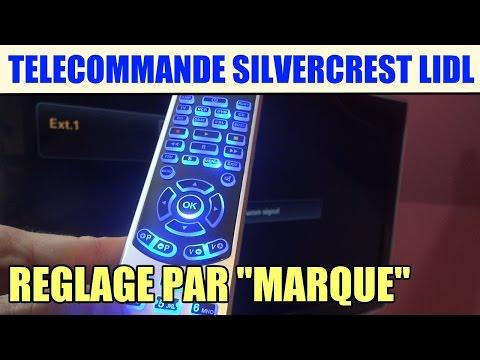 télécommande universelle silvercrest lidl SFB 10.1 : la recherche par marque