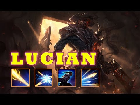 Lucian montage 36 - Lucian Mechanics - Troll Or Afk