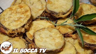 295 - Melanzane fritte a portafoglio...me ne mangerei un convoglio! (secondo piatto goloso e facile)