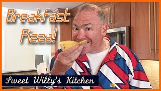 Disney Chef Mickey Inspired Breakfast Pizza - How To Make