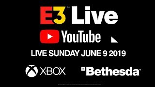 Sunday E3 Live: Official YouTube Show with Xbox, Bethesda, Samuel L. Jackson and More!