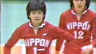 1983アジア選手権日本対中国