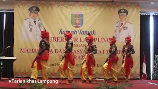 Tari Tradisional Lung Tari Muli Begukhau diperagakan oleh HIMALAYA Surabaya