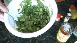HCG Diet Recipe - Yummy Tuna Salad & Homemade Mustard Dressing