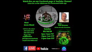 Paranormal Soup Ep 225 guest Phil Siracusa