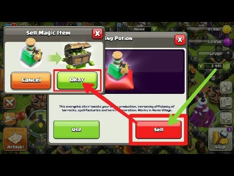 What happens if we sell Magic Item in coc? | Clash of Clans