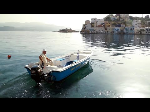 The Greek island of Kastellorizo, a symbol of tensions with Turkey