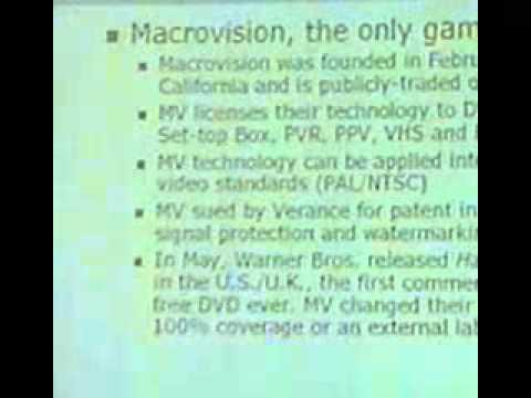DEF CON 10 - Adam Bresson - DEF CON 10 Talk: Consumer Media Protections