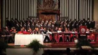 Morehouse Glee Club Sings I