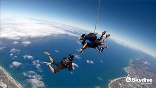 Skydiving over the great ocean road is ultimate adrenalin rush! exit plane from an insane altitude of up to 14,000ft for a heart-stopping 60 seconds ...