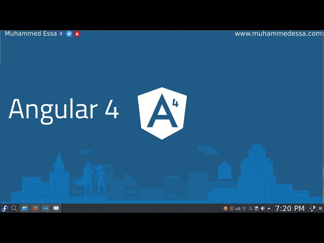 Angular 4 دورة من الصفر الى المشروع الكامل