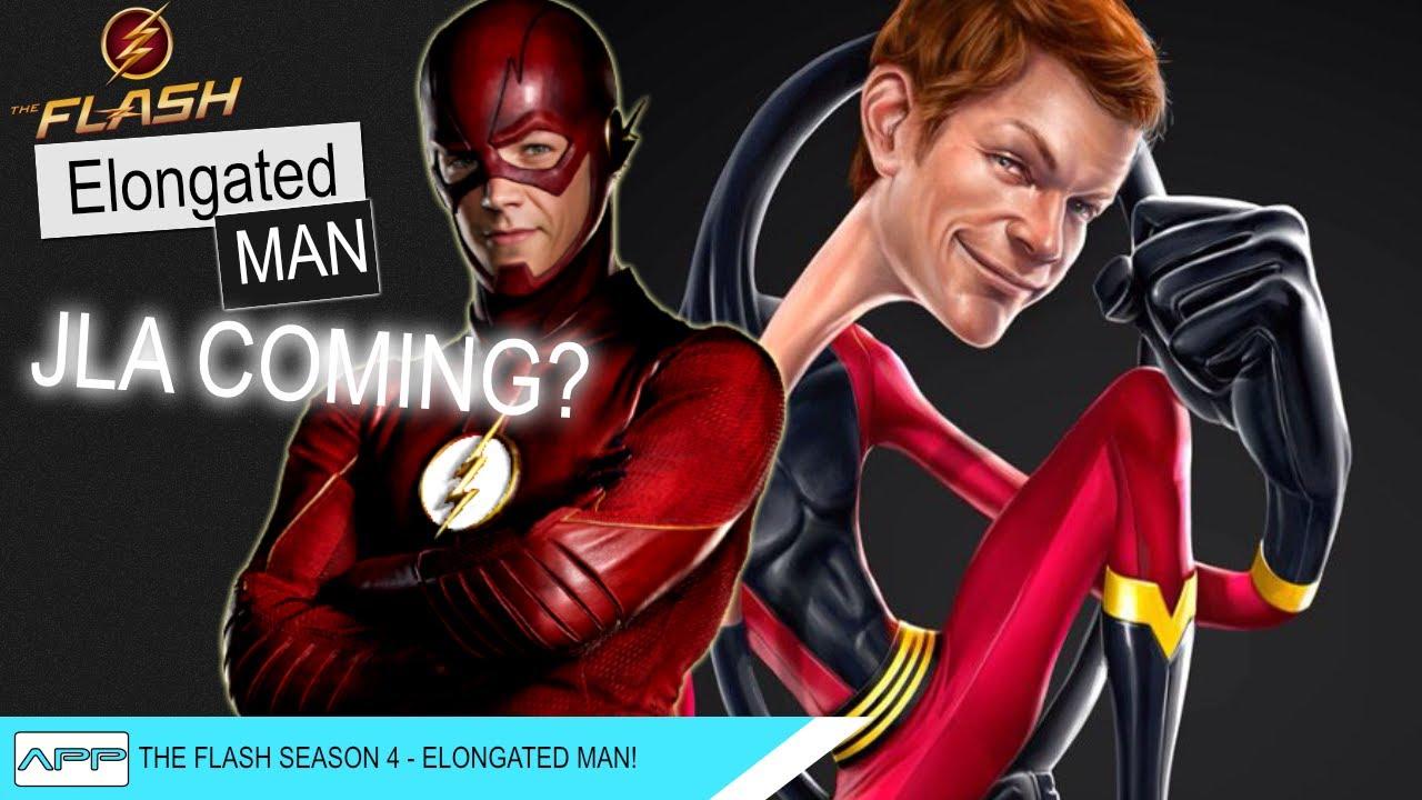 The Flash Season 4 Secrets Jla And Elongated Man Youtube