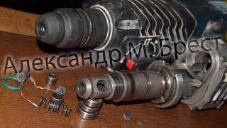 Bosch 2-24 \ Как поменять растровую \ Восстановление муфты \ Ремонт инструмента \ Обслуживание \ РБ