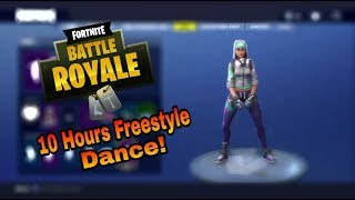 Fortnite FREESTYLE DANCE 10H !