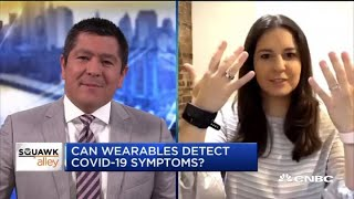 Whether wearable tech can detect Covid-19 symptoms: WSJ's Joanna Stern
