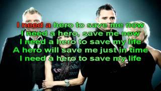 Skillet - Hero (Lyrics)