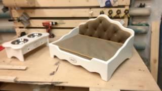Элитная кроватка для собаки