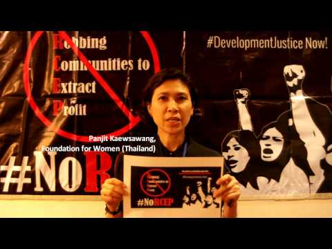 No RCEP Campaign: Stop Trading Away Human Rights