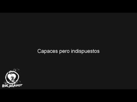 Rise Against - Escape Artists (Sub. Español)