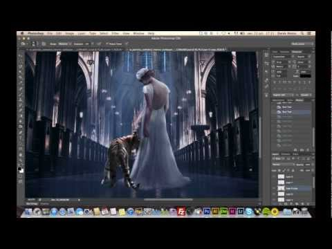 DMalou - The Bride And The Tiger - #Photoshop