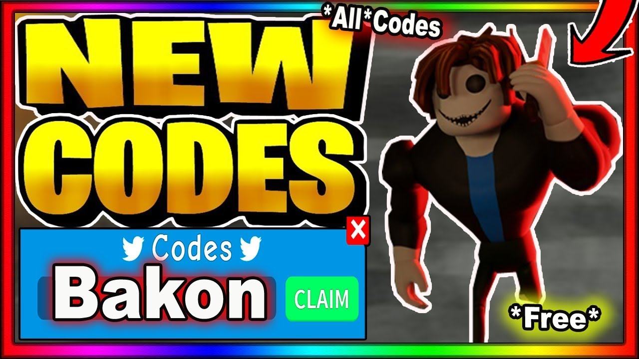 Codes For Characters In Roblox All New Codes 2020 Roblox Bakon Youtube