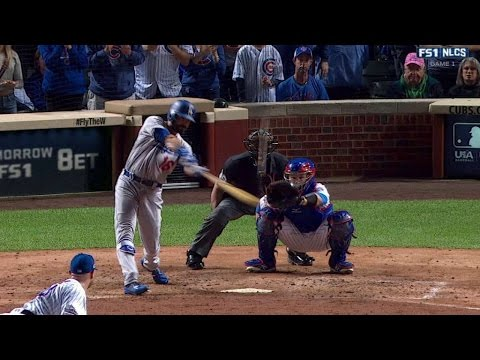 NLCS Gm1: Ethier lifts pinch-hit solo jack off Lester