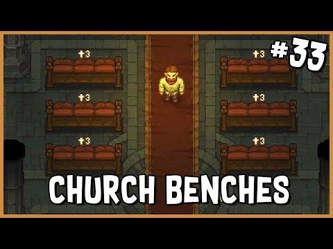 💀 Soft Church Benches & My First Gold Coin   Graveyard Keeper Gameplay   Part 33