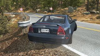 Loss of Control Car Crashes 14 - BeamNG Drive