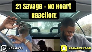 21 Savage - No Heart Reaction