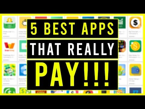 5 BEST APPS THAT PAY YOU REAL MONEY