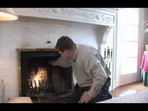 home-inspection-of-a-fireplace