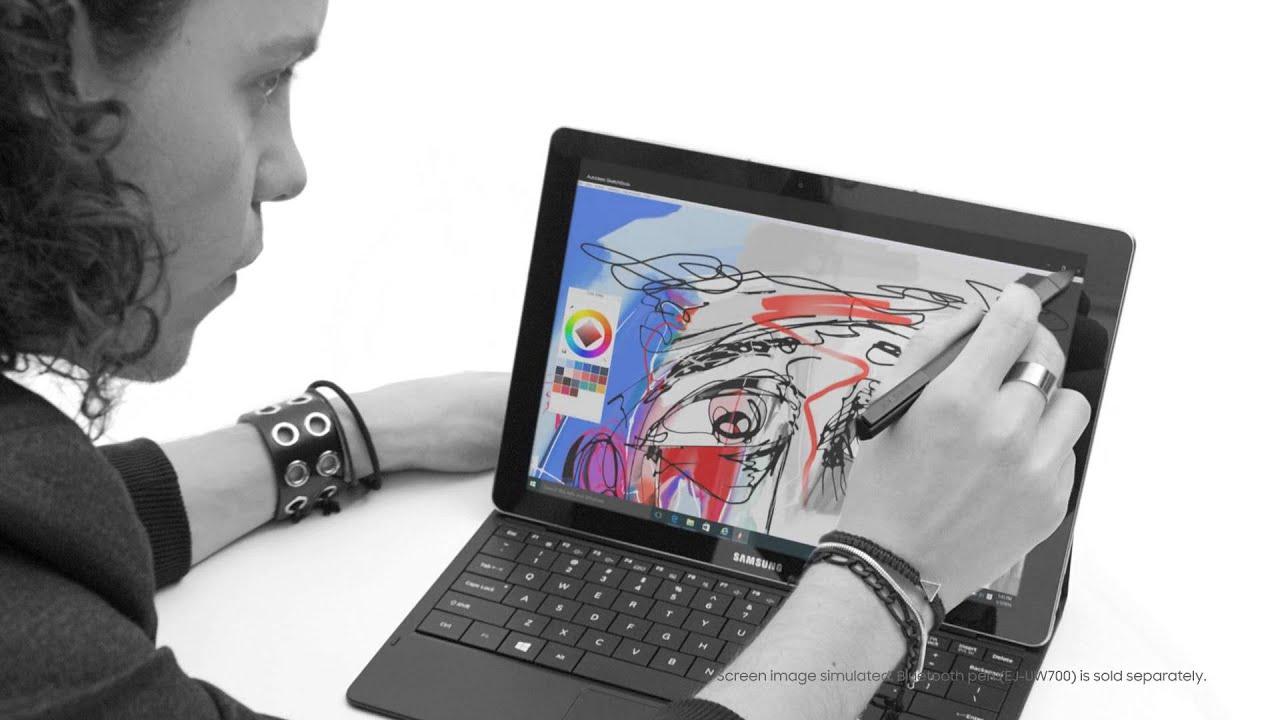 das neue samsung galaxy tabpro s 2 in 1 premium tablet