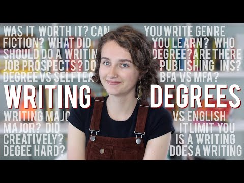 Everything About Creative Writing Degrees!