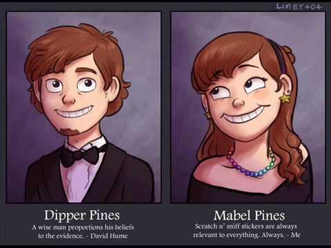 Hey Brother - Gravity Falls (Mabel & Mason Pines)|VALERY369
