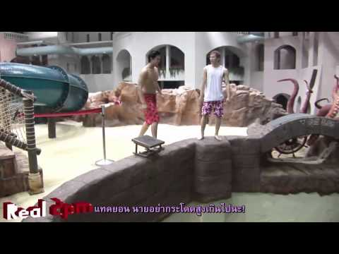 110818 [Real 2PM] Caribbean Bay CF making film 2 [Thai-Sub]