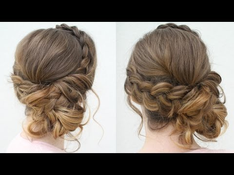 DIY Prom Updo Prom Hairstyles 2020