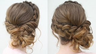 DIY Prom Updo 2018 | Prom Hairstyles | Braidsandstyles12