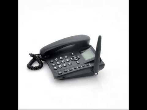 Wireless GSM Desk Phone Quadband, SMS function