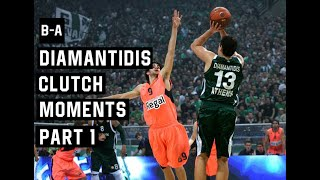 Dimitris Diamantidis Clutch Moments Part 1