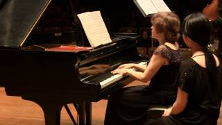 Angelo Xiang Yu and Dina Vainshtein Schubert Fantasy for Violin and Piano in C, D 934 in HD