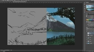 17. Painting a Digital Landscape Part 1