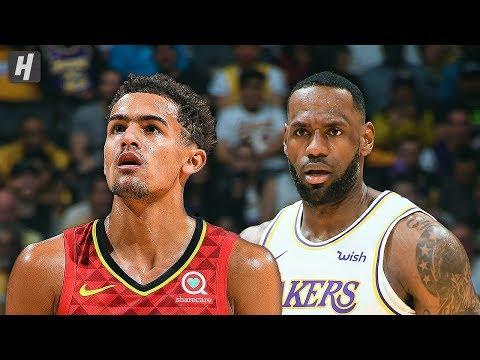 Atlanta Hawks vs Los Angeles Lakers - Full Game Highlights   November 17, 2019   2019-20 NBA Season